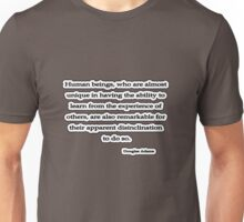 Human Beings, Douglas Adams Unisex T-Shirt