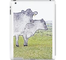 Cley Cows Too C iPad Case/Skin