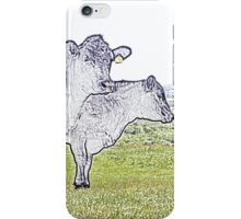Cley Cows Too C iPhone Case/Skin