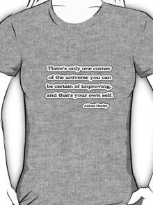 Certain, Aldous Huxley T-Shirt