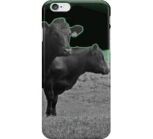 Cley Cows Too D iPhone Case/Skin