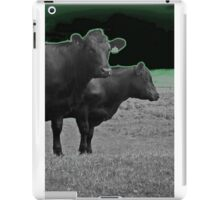 Cley Cows Too D iPad Case/Skin
