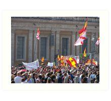 Vatican 'Free' Day - Feast of All Saints Art Print