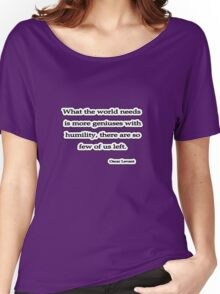 Humilty, Levant Women's Relaxed Fit T-Shirt
