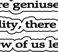 Humilty, Levant Sticker