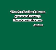 Fine line, Oscar Levant Unisex T-Shirt