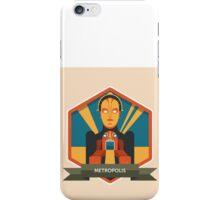 Metropolis Badge iPhone Case/Skin