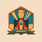 Metropolis Badge by Simon Alenius
