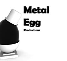 3d Max Metal egg by DanielVG