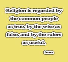 Religion is regarded, Seneca by Tammy Soulliere