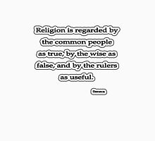 Religion is regarded, Seneca Unisex T-Shirt