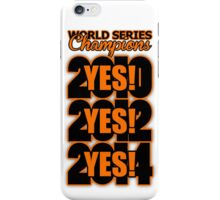 Yes! Yes! Yes! iPhone Case/Skin