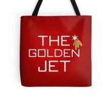 The Golden Jet Tote Bag