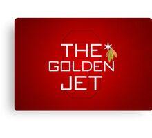 The Golden Jet Canvas Print