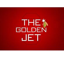 The Golden Jet Photographic Print