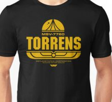 Torrens (yellow) Unisex T-Shirt