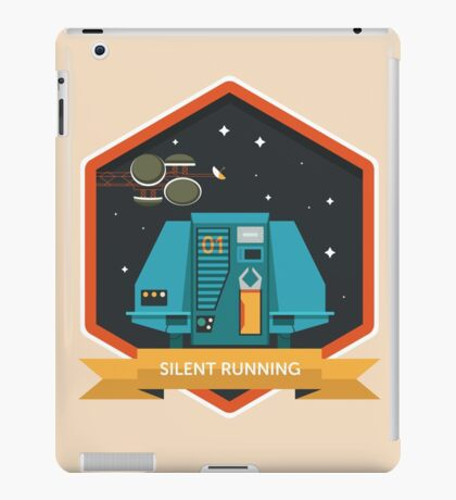Silent Running Badge iPad Case/Skin