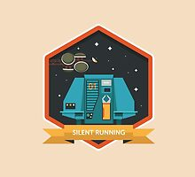 Silent Running Badge by Simon Alenius