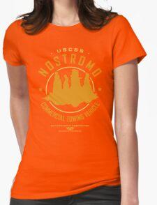 Nostromo Starfreighter Womens Fitted T-Shirt