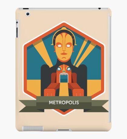 Metropolis Badge iPad Case/Skin