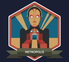 Metropolis Badge Kids Tee