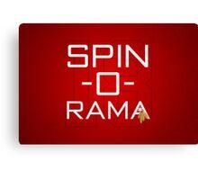 Spin-O-Rama Canvas Print