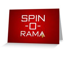 Spin-O-Rama Greeting Card