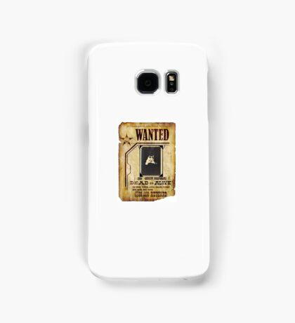 Wanted Victorian Cat Samsung Galaxy Case/Skin