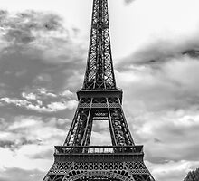 Eiffel Tower 10 by John Velocci