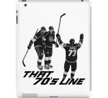 That 70's Line iPad Case/Skin
