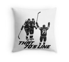 That 70's Line Throw Pillow