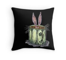 Bun-Mug Throw Pillow