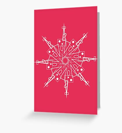 Snowflake - Starbright Greeting Card