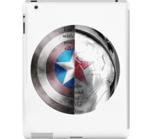 """I'm with you till the end of the line"" Print iPad Case/Skin"