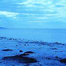 'Beach in Blue' by Christine Lake
