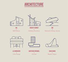 Architecture Line Design by Simon Alenius