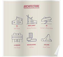 Architecture Line Design Poster