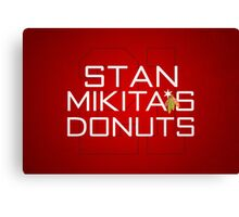 Mikita's Donuts Canvas Print