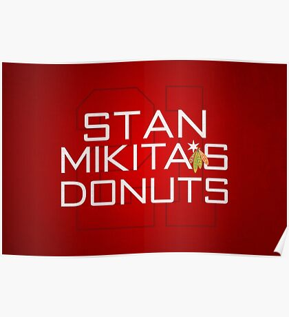 Mikita's Donuts Poster
