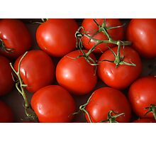 Ruby Red Tomatoes Photographic Print