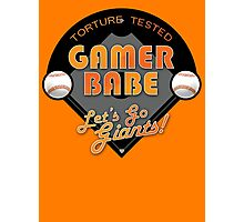 Torture Tested Gamer Babe 2 Photographic Print