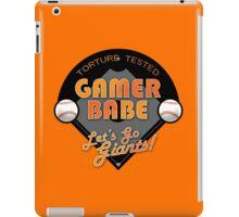Torture Tested Gamer Babe 2 iPad Case/Skin