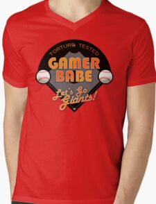 Torture Tested Gamer Babe 2 Mens V-Neck T-Shirt