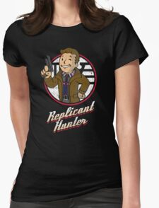 Replicant Hunter Womens Fitted T-Shirt