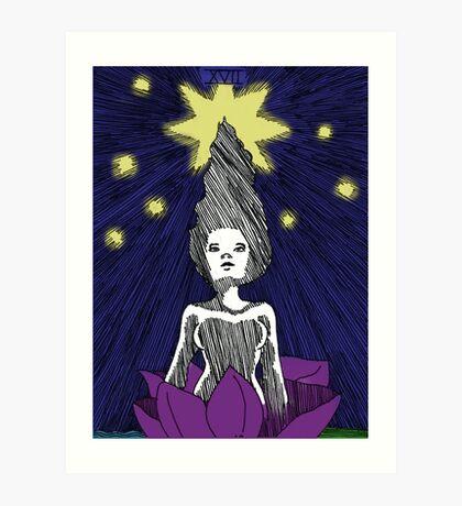The Star Art Print Art Print