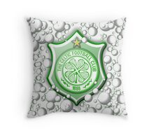 Celtic Bubble 3D Shield Crest  Throw Pillow