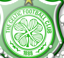 Celtic Bubble 3D Shield Crest  Sticker