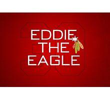 Eddie the Eagle Photographic Print