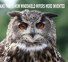 'And that's how windshield wipers were invented' by Jim Cumming