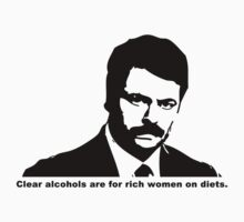 Ron Swanson - Clear Alcohols T-Shirt